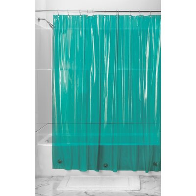 Bornstein Shower Curtain Liner Color: Deep Teal