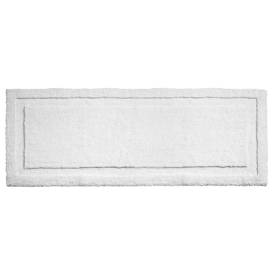 Spa Bath Rug Rug Size: 60 x 21 , Color: White