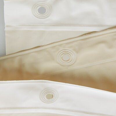 Miner Shower Curtain Liner Color: Sand