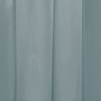 Miner Shower Curtain Liner Color: Smoke