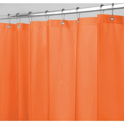Zora Shower Curtain Liner Color: Burnt Orange