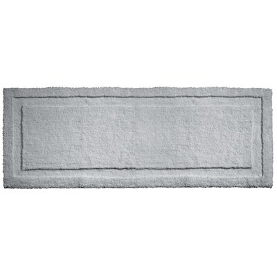 Spa Bath Rug Rug Size: 60 x 21 , Color: Gray