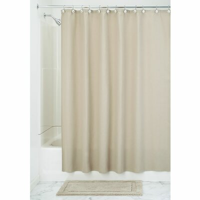 York Shower Curtain Color: Linen