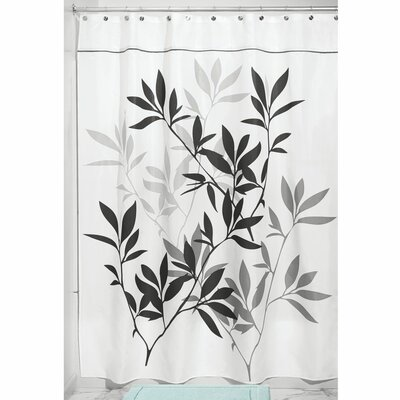 Shower Curtain Color: Black/Gray, Size: 78 H x 54 W