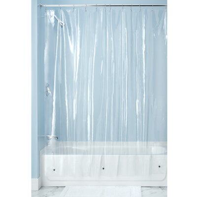 Bridgett Vinyl Shower Curtain Liner