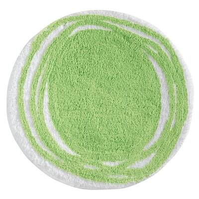 Doodle Mat Color: Lime