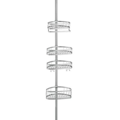 York Shower Caddy Finish: Silver