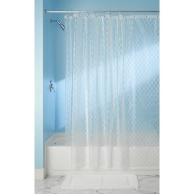 Olsen Checkers Shower Curtain Liner