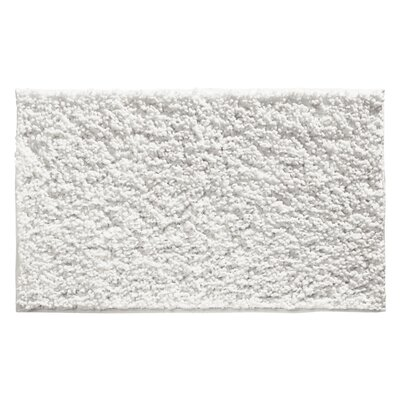 Chanelle Fuzi Bath Rug Color: White