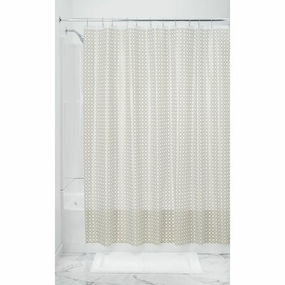 Addie Shower Curtain Liner Color: Gold