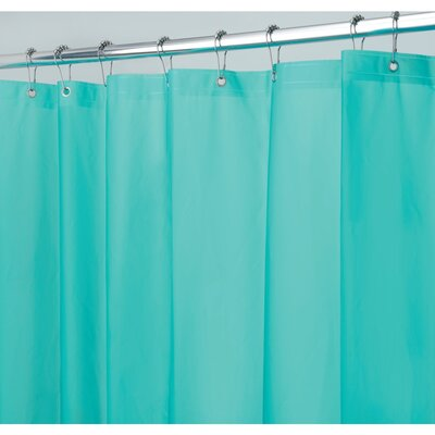 Miner Shower Curtain Liner Color: Aquamarine