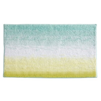 Ombre Bath Rug Color: Mint