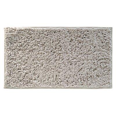 Chanelle Fuzi Bath Rug Color: Stone