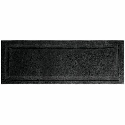 Spa Bath Rug Rug Size: 60 x 21 , Color: Black