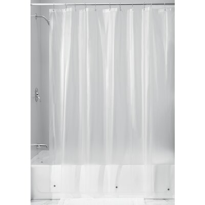 Bornstein Shower Curtain Liner Color: Clear