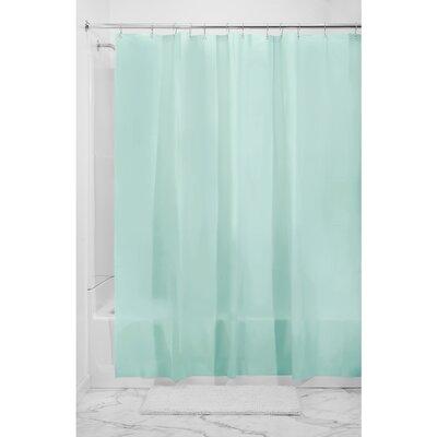 Bernstein Shower Curtain Color: Mint