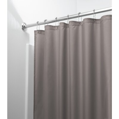 Bernstein Shower Curtain Color: Dark Taupe