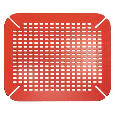 Craven Sink Saver Finish: Red