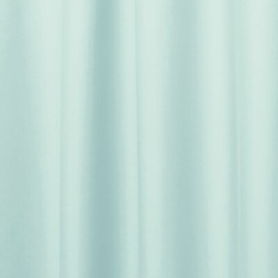 Miner Shower Curtain Liner Color: Mint