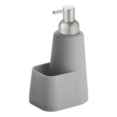 Lineo Soap Dispenser Pump and Sponge Caddy Finish: Gray