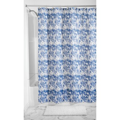 Floral Batik Shower Curtain