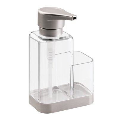 Bruschia Soap Dispenser Pump and Sponge Caddy