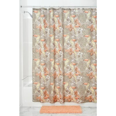 Toucan Natural Shower Curtain
