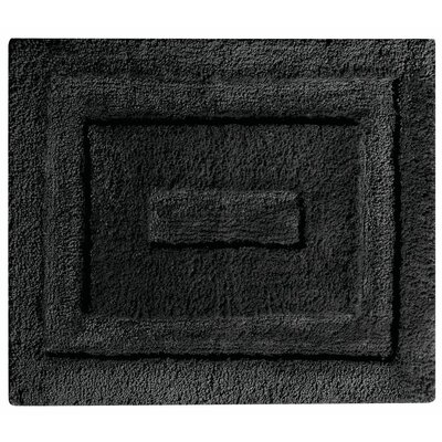 Spa Bath Rug Color: Black