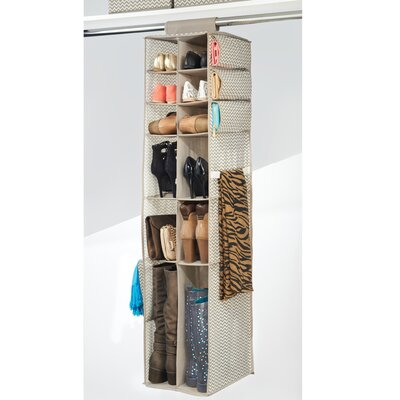Axis 16 Compartment Hanging Shoe Organizer