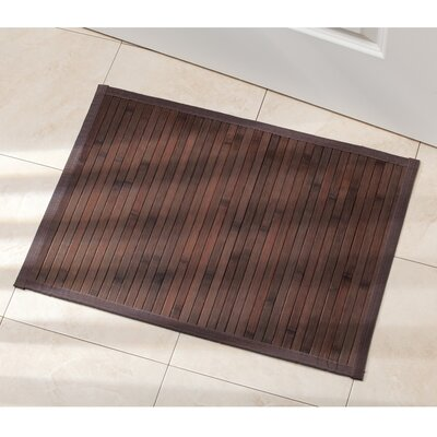 Formbu Bath Mat Size: Small, Color: Mocha