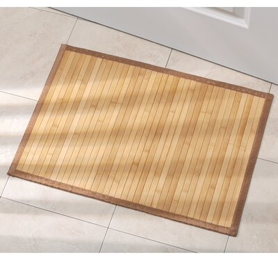 Aarohi Bath Mat Size: Xtra Large, Color: Bamboo