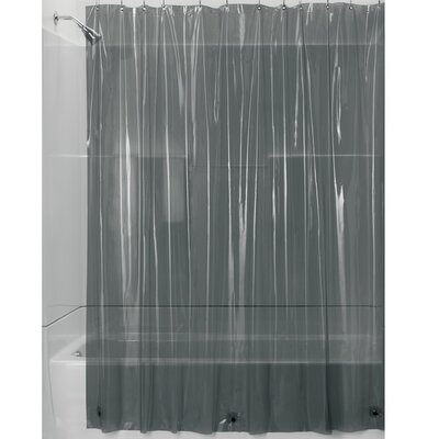 Travis Shower Curtain Liner Color: Smoke/Chrome