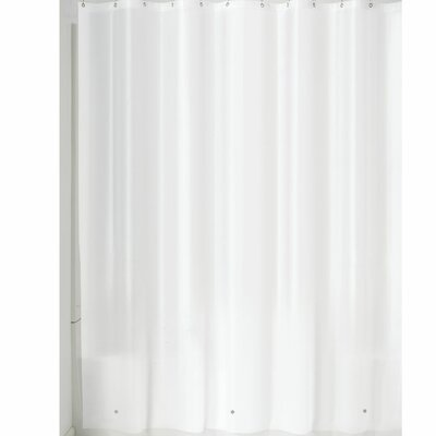 Miner Shower Curtain Liner Color: White