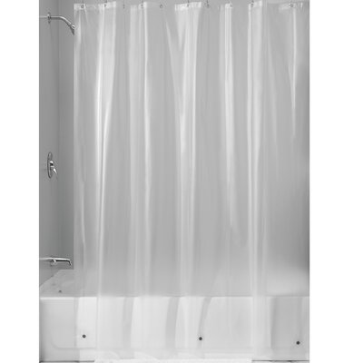 Miner Shower Curtain Liner Color: Clear