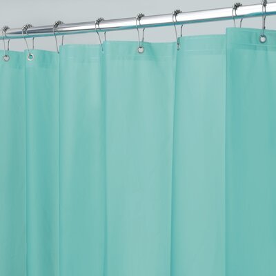 Zora Shower Curtain Liner Color: Aquamarine