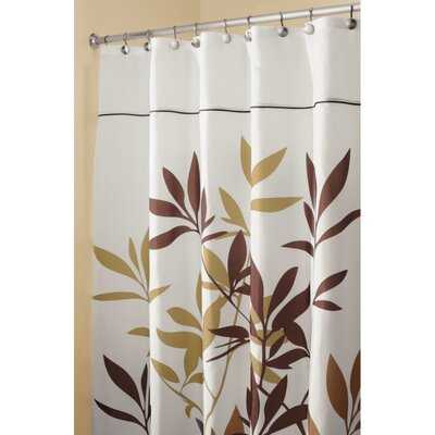 Shower Curtain Color: Brown, Size: 74 H x 54 W