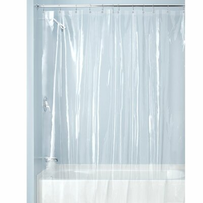 Zora Shower Curtain Liner Color: Clear