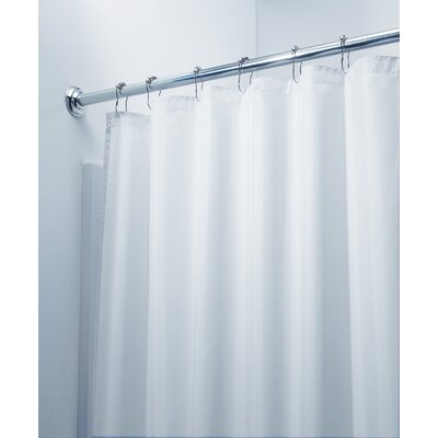 Carlton Shower Curtain Color: White