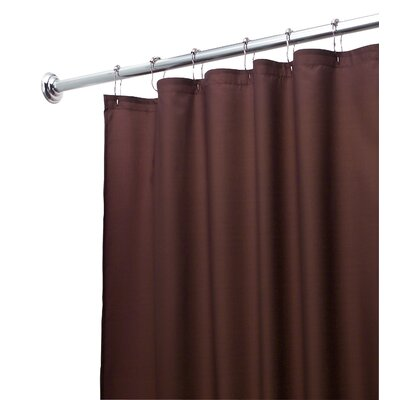 Waterproof Shower Curtain Liner Color Chocolate