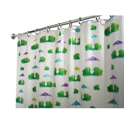 PVC Frogs Shower Curtain
