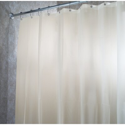 EVA Vinyl Waterproof Shower Curtain Color: Sand