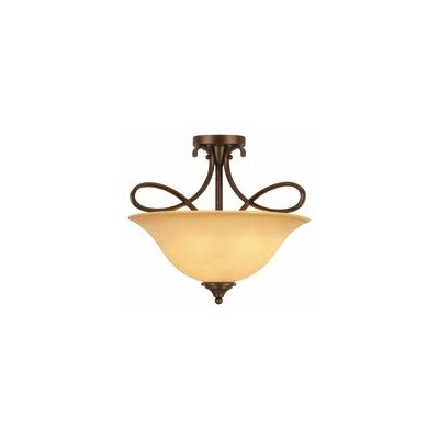 Bennington 3-Light Semi Flush Mount