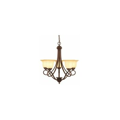 Bennington 5-Light Shaded Chandelier