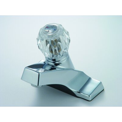 Lavatory Metering Faucet Single Handle Finish: Chrome