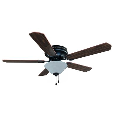 52 Jupiter 5-Blade Ceiling Fan Finish: Oil Rubbed Bronze