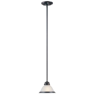 1-Light Mini Pendant Base Finish: Classic Bronze