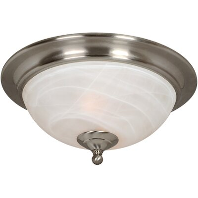 Saturn 2-Light Flush Mount