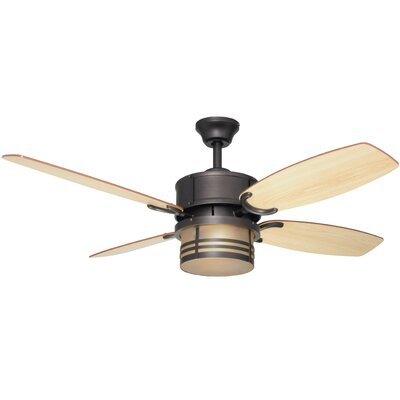 52 Triple 4-Blade Mount Ceiling Fan