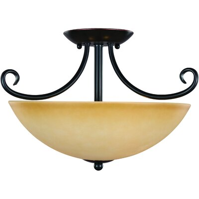 Essex 2-Light Semi Flush Mount