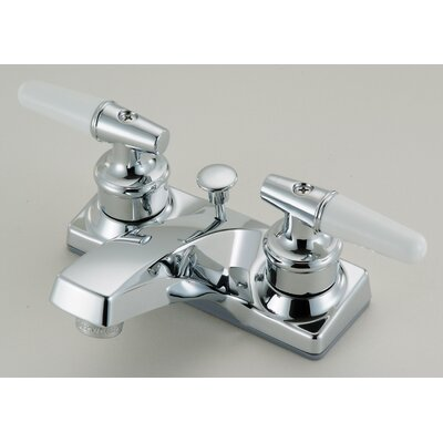 Lavatory Centerset Faucet Double Handle